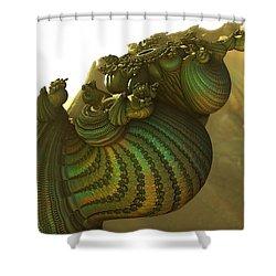 Snails Sunnyside Up Shower Curtain