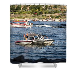 Snake River Adventures Shower Curtain