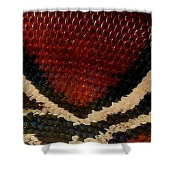 Snake's Scales Shower Curtain