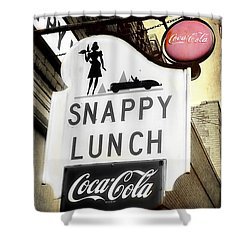 Snappy Lunch Shower Curtain