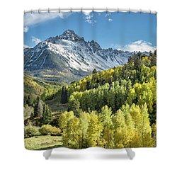 Sneffels In September Shower Curtain