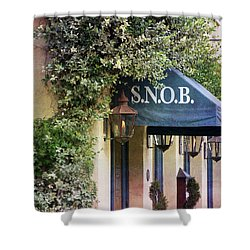 Snob Shower Curtain