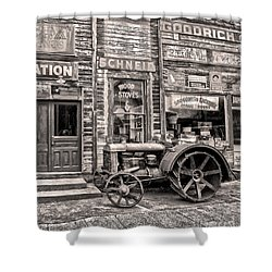 Snohomish Antiques Shower Curtain