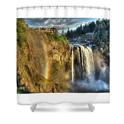 Snoqualmie Falls, Washington Shower Curtain