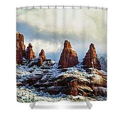 Snow 04-002 Shower Curtain
