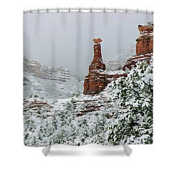 Snow 06-027 Shower Curtain