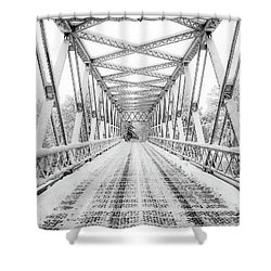 Snow Angles Shower Curtain