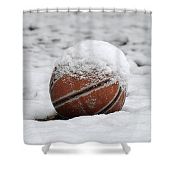 Snow Ball Shower Curtain