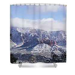 Snow Blanket Shower Curtain