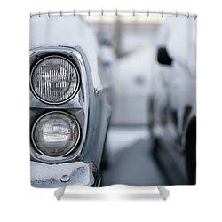 Snow Covered Classic Shower Curtain