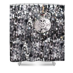 Shower Curtain featuring the photograph Snow Flake by Ulrich Schade