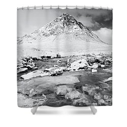 Snow In Glencoe Shower Curtain