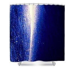 Snow Lightning Shower Curtain