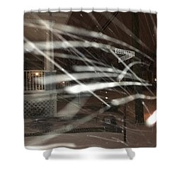 Snow On Coulter Shower Curtain