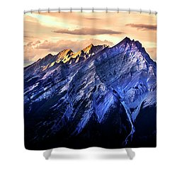 Shower Curtain featuring the photograph Mount Cascade by John Poon
