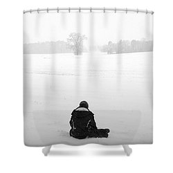 Snow Wonder Shower Curtain