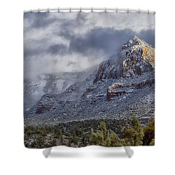 Snowbreak Shower Curtain
