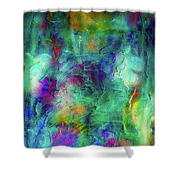 Snowdrops In April Shower Curtain