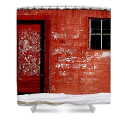 Snowed In Shower Curtain by Ed Smith