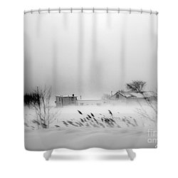 Snowed - In Shower Curtain