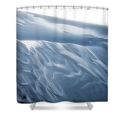Snowy Days Shower Curtain