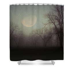 Moonlit Dreams Shower Curtain by Inspired Arts