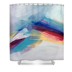 Snowy Mountain Shower Curtain