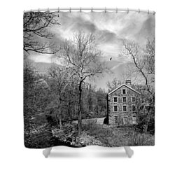 Shower Curtain featuring the photograph Snuff by Diana Angstadt