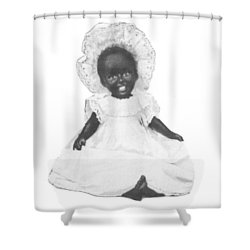 Shower Curtain featuring the digital art So Clean And White by Reinvintaged
