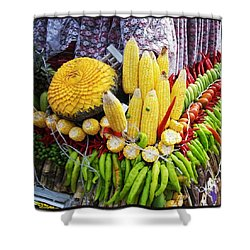 Shower Curtain featuring the photograph So, Elephants Eat Red Hot Chile by Mr Photojimsf