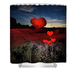 Shower Curtain featuring the photograph So Far Away by Tassanee Angiolillo