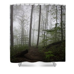 So Foggy Shower Curtain