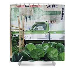 So Fresh. #minneapolis #beer #wine Shower Curtain