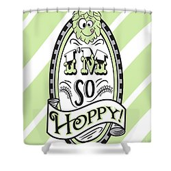 So Hoppy Shower Curtain