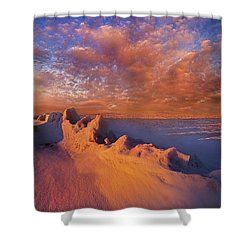 Shower Curtain featuring the photograph So It Begins by Phil Koch