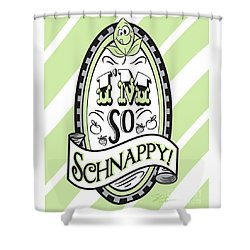 So Schnappy Shower Curtain