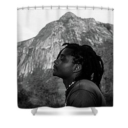 Soaking Up The Good Vibes Shower Curtain by Bruce J Robinson