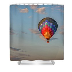 Shower Curtain featuring the photograph Soaring At Sunrise by Rick Berk