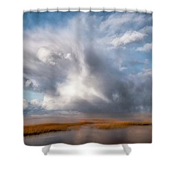 Soaring Clouds Shower Curtain