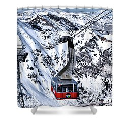 Soaring Shower Curtain by Jim Hill