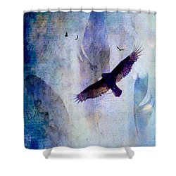 Soaring Shower Curtain by Lisa Noneman