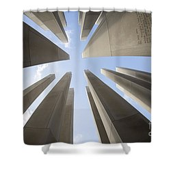 Soaring Words Shower Curtain