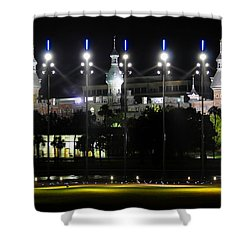 Soccer  Anyone Shower Curtain by David Lee Thompson