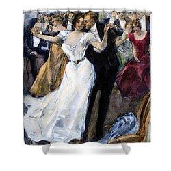 Society Ball, C1900 Shower Curtain by Granger