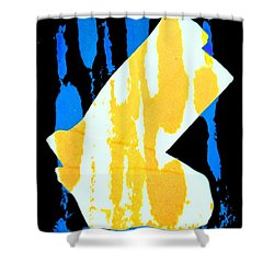Socks Shower Curtain by Bob Pardue
