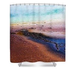 Shower Curtain featuring the photograph Soda Water by Jeffrey Jensen