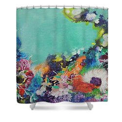 Soft And Hard Corals Shower Curtain