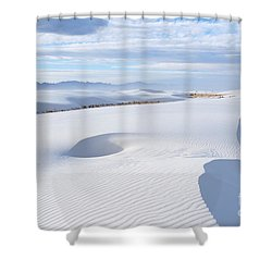 Soft Enchantment Shower Curtain by Vivian Christopher