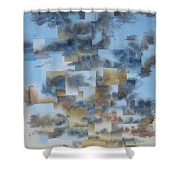 Soft Light Shower Curtain by Jeni Bate