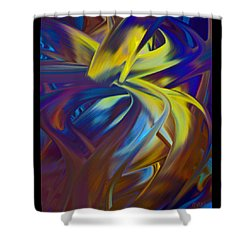 Soft Reality 221 Shower Curtain